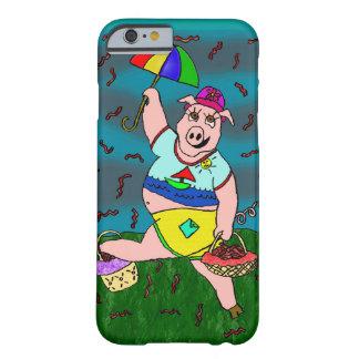 Coque iPhone 6 Barely There Porc de lard de Rainin
