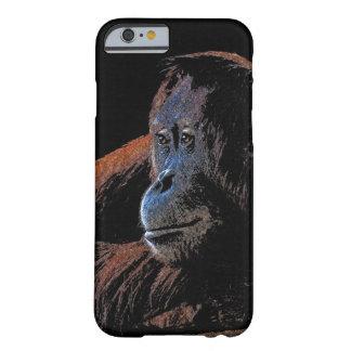 Coque iPhone 6 Barely There Portrait mis en danger de primat d'orang-outan
