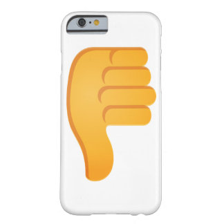 Coque iPhone 6 Barely There Pouces vers le bas Emoji