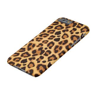 Coque iPhone 6 Barely There Puissance de léopard - cas de dispositif de