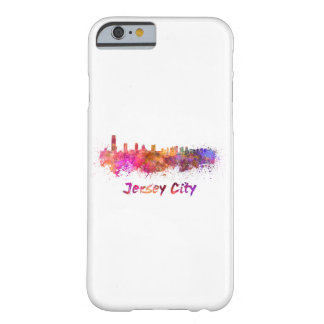 Coque iPhone 6 Barely There Pull-over Ville skyline in watercolor