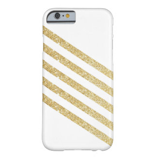 Coque iPhone 6 Barely There Rayure d'or