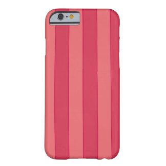Coque iPhone 6 Barely There Rayures roses