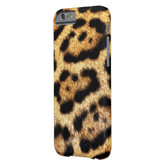 Coque iPhone 6 Barely There Regard de fourrure de léopard