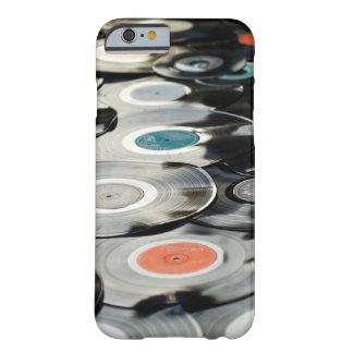 Coque iPhone 6 Barely There Rétro cas vintage de téléphone d'albums de disques