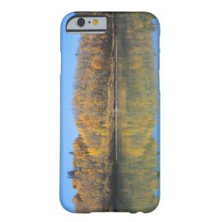 Coque iPhone 6 Barely There Rivière du nord de Saskatchewan en automne