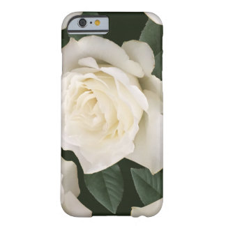 Coque iPhone 6 Barely There Rose blanc