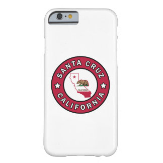 Coque iPhone 6 Barely There Santa Cruz la Californie