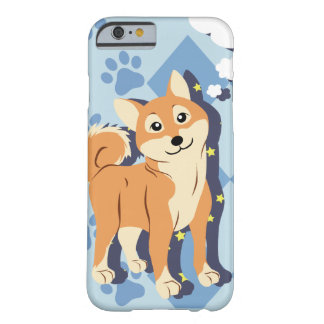 Coque iPhone 6 Barely There Shiba réfléchi Inu