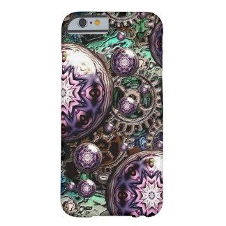 Coque iPhone 6 Barely There Steampunk et cas astucieux de téléphone portable