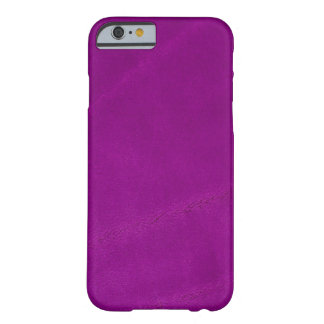 Coque iPhone 6 Barely There Suède pourpre