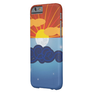 Coque iPhone 6 Barely There Sun et conception graphiques de lune