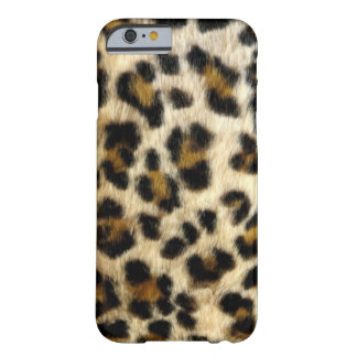Coque iPhone 6 Barely There Taches noires chics de léopard