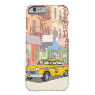 Coque iPhone 6 Barely There Taxi de New York