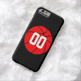 Coque iPhone 6 Barely There Téléphone fait sur commande de basket-ball de