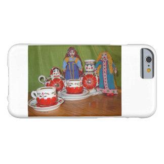 Coque iPhone 6 Barely There Temps russe de thé de poupée