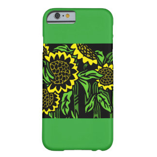 Coque iPhone 6 Barely There Tournesol