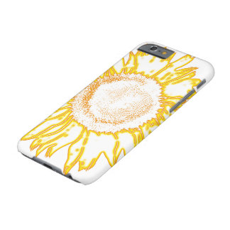 Coque iPhone 6 Barely There Tournesol jaune
