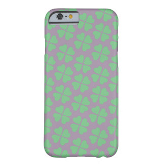 Coque iPhone 6 Barely There Trèfle chanceux