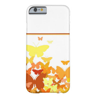 Coque iPhone 6 Barely There Troupeau des papillons