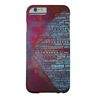 Coque iPhone 6 Barely There Typographie de papillon