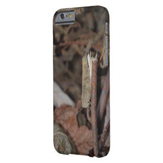 Coque iPhone 6 Barely There Véritables bâtons de Camo, feuille, et cas de