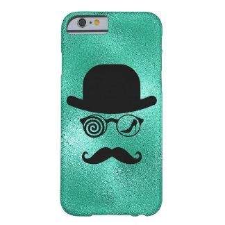 Coque iPhone 6 Barely There Verres de moustaches de coureur de jupons de loup