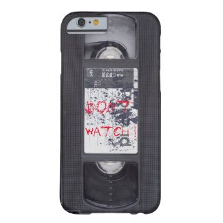 """Coque iPhone 6 Barely There VHS """"Don't watch !"""""""