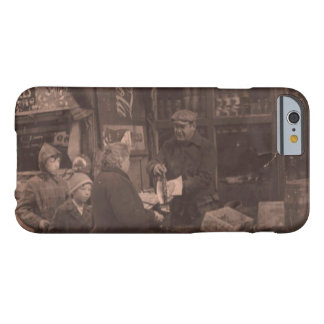 Coque iPhone 6 Barely There Vieux New York