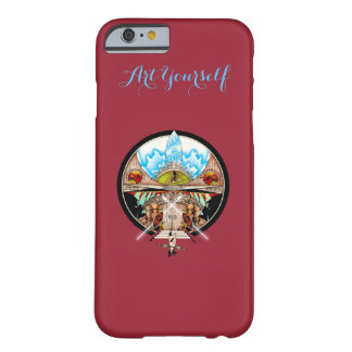 Coque iPhone 6 Barely There Village de Tiki
