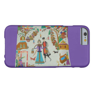 Coque iPhone 6 Barely There Village russe en hiver