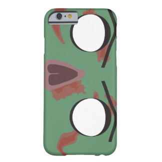 Coque iPhone 6 Barely There Visage foncé de zombi