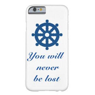 Coque iPhone 6 Barely There Vous ne serez jamais perdus - chance