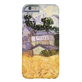 Coque iPhone 6 Barely There Vue de Van Gogh d'Auvers avec l'église, beaux-arts