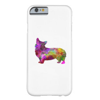 Coque iPhone 6 Barely There Welsh Corgi Cardigan in watercolor