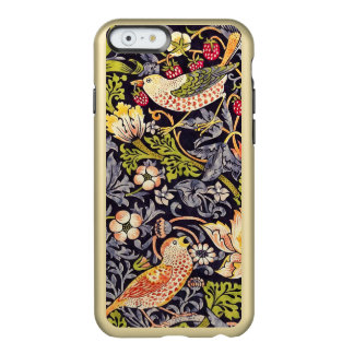Coque iPhone 6 Incipio Feather® Shine Art floral Nouveau de voleur de fraise de William
