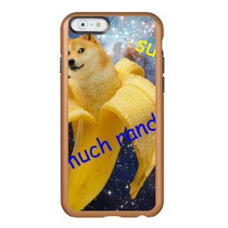 Coque iPhone 6 Incipio Feather® Shine banane   - doge - shibe - l'espace - wouah doge
