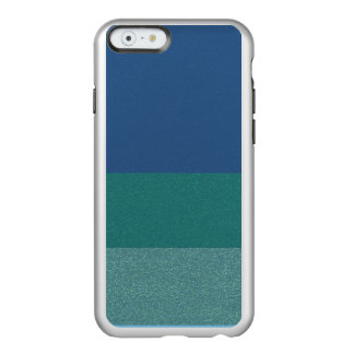 Coque iPhone 6 Incipio Feather® Shine Caisse bleue de téléphone de motif de