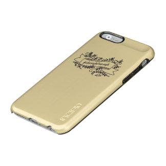 Coque iPhone 6 Incipio Feather® Shine Cas assez floral de téléphone d'atout de décharge