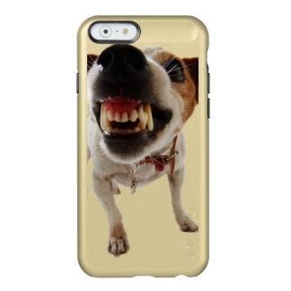 Coque iPhone 6 Incipio Feather® Shine Chien agressif - chien fâché - chien drôle
