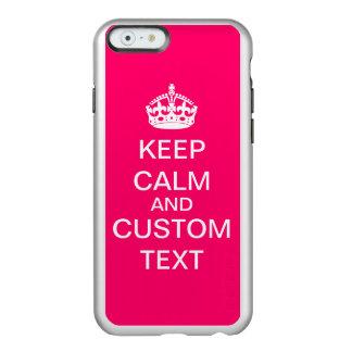Coque iPhone 6 Incipio Feather® Shine Créez vos propres gardent le calme et perpétuent