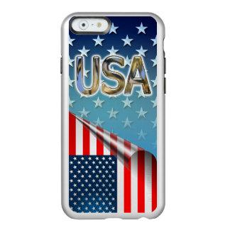 Coque iPhone 6 Incipio Feather® Shine Drapeau des USA