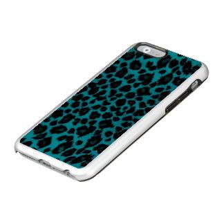 Coque iPhone 6 Incipio Feather® Shine Empreinte de léopard de turquoise