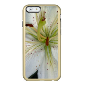 Coque iPhone 6 Incipio Feather® Shine Fin de lis blanc