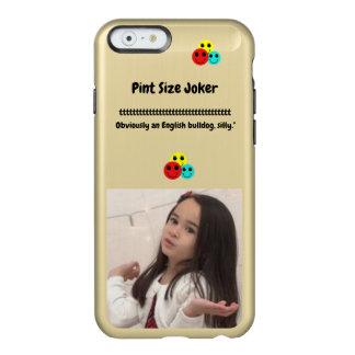 Coque iPhone 6 Incipio Feather® Shine Joker de taille de pinte : Bouledogue anglais