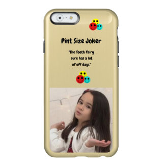 Coque iPhone 6 Incipio Feather® Shine Joker de taille de pinte : Fée de dent et outre