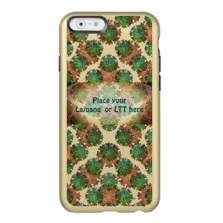 Coque iPhone 6 Incipio Feather® Shine Le ton deux a personnalisé la caisse de téléphone