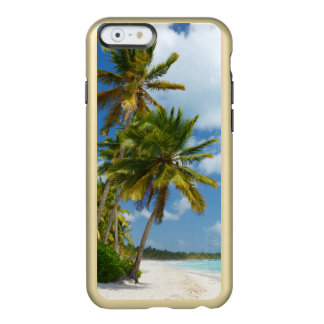 Coque iPhone 6 Incipio Feather® Shine L'eau tropicale de turquoise de plage et paumes