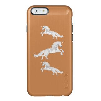 Coque iPhone 6 Incipio Feather® Shine Licorne de blanc d'illustration