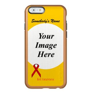 Coque iPhone 6 Incipio Feather® Shine Modèle standard rouge de ruban